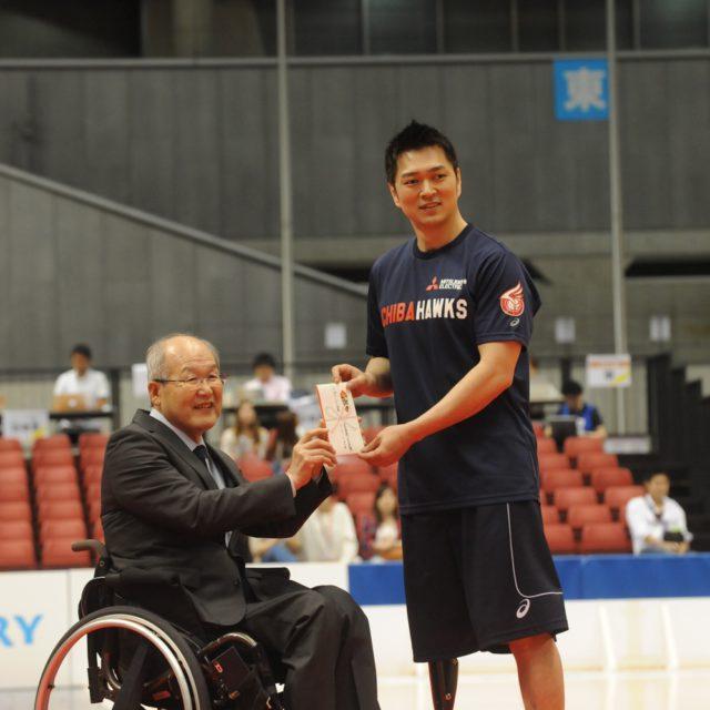 土子 大輔選手(千葉ホークス)は得点王(139点)&スリーポイント賞(13本)をW受賞